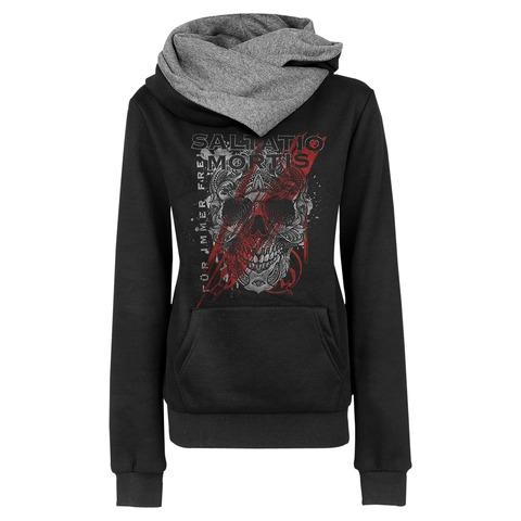√Floral Skull von Saltatio Mortis - Girlie hooded sweater jetzt im Bravado Shop
