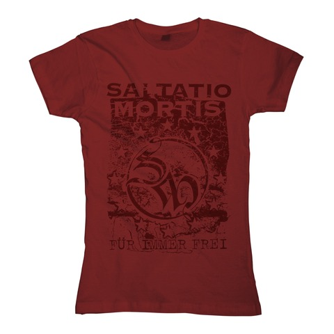 √Freies Europa von Saltatio Mortis - Girlie Shirt jetzt im Bravado Shop