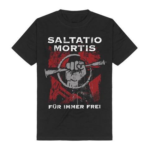 √Für immer frei von Saltatio Mortis - T-Shirt jetzt im Bravado Shop