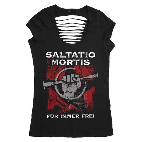 √Für immer frei von Saltatio Mortis - Girlie Shirt jetzt im Bravado Shop