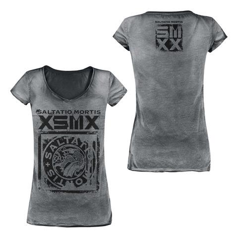 √XSMX Drache von Saltatio Mortis - Girlie Shirt jetzt im Bravado Shop