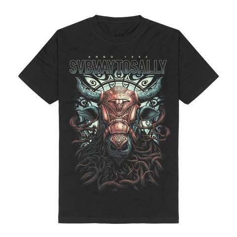 √The Masked Bull von Subway To Sally - T-Shirt jetzt im Bravado Shop