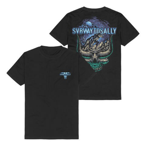 √The Night Anthem von Subway To Sally - T-Shirt jetzt im Bravado Shop