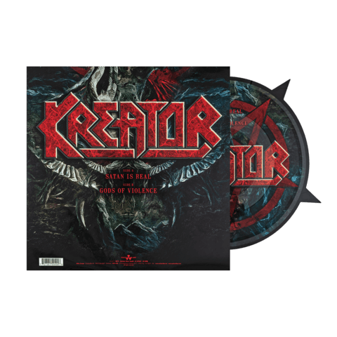 √Satan Is Real / Gods Of Violence von Kreator - Picture Vinyl jetzt im Bravado Shop