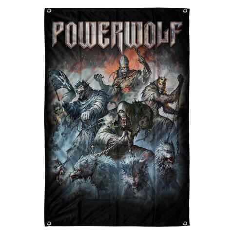 √Best Of The Blessed Art von Powerwolf - Flag jetzt im Bravado Shop