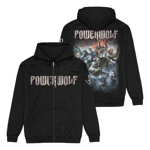 Best Of The Blessed Art von Powerwolf - Kapuzenjacke jetzt im Bravado Store