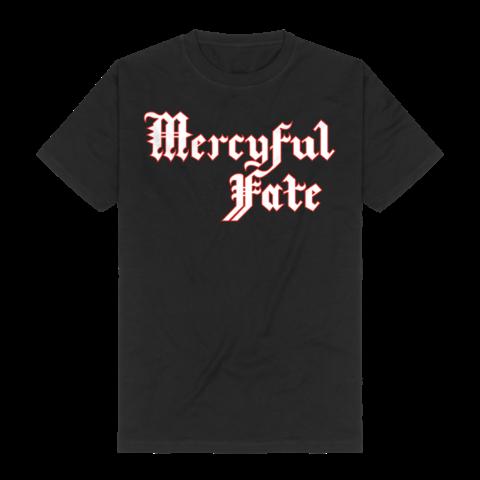 Red Logo Outline von Mercyful Fate - T-Shirt jetzt im Bravado Shop