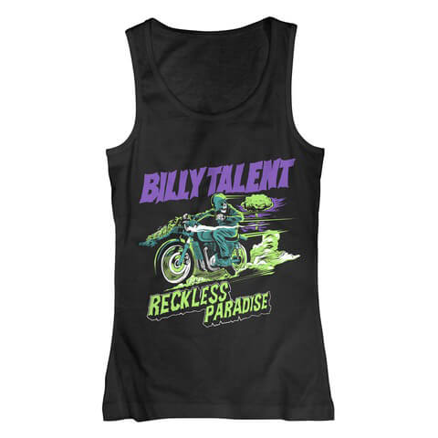 √Reckless Paradise von Billy Talent - Tank Top jetzt im Bravado Shop