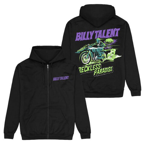 √Reckless Paradise von Billy Talent - Hooded jacket jetzt im Bravado Shop
