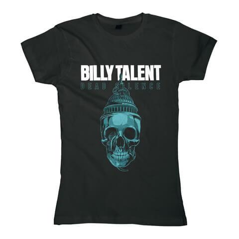√Skull von Billy Talent - Girlie Shirt jetzt im Bravado Shop