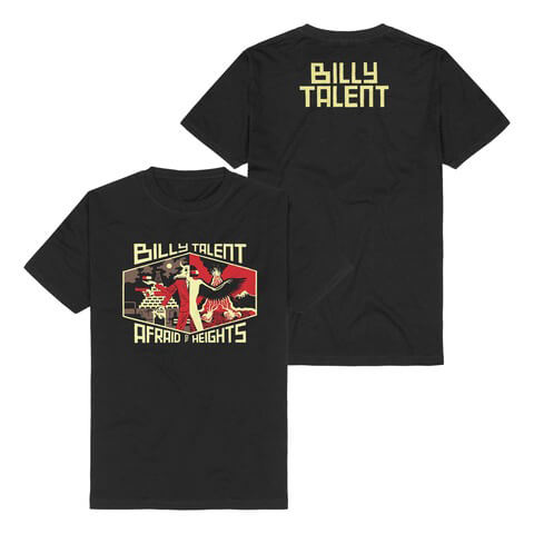 √Afraid Of Heights von Billy Talent - T-Shirt jetzt im Bravado Shop