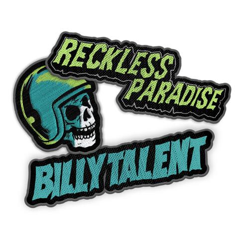 Patch Set von Billy Talent - Aufnäher 3er Set jetzt im Bravado Shop