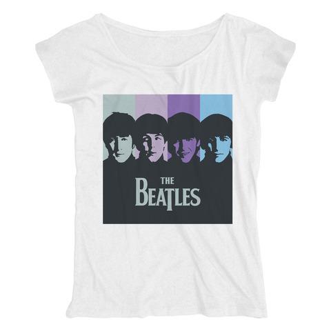 Purple Stripes von The Beatles - Loose Fit Girlie Shirt jetzt im Bravado Store