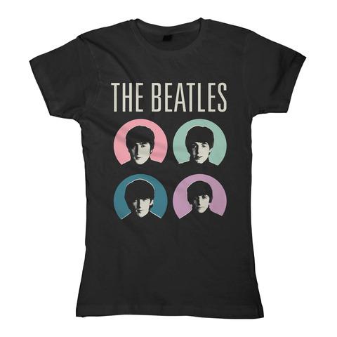 Circle Faces von The Beatles - Girlie Shirt jetzt im Bravado Store