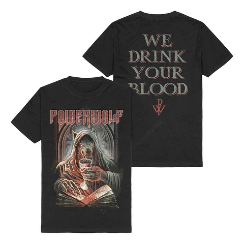 √Your Blood von Powerwolf - T-Shirt jetzt im Bravado Shop