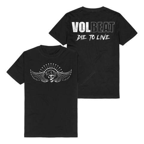 √Die To Live Logo von Volbeat - T-Shirt jetzt im Bravado Shop