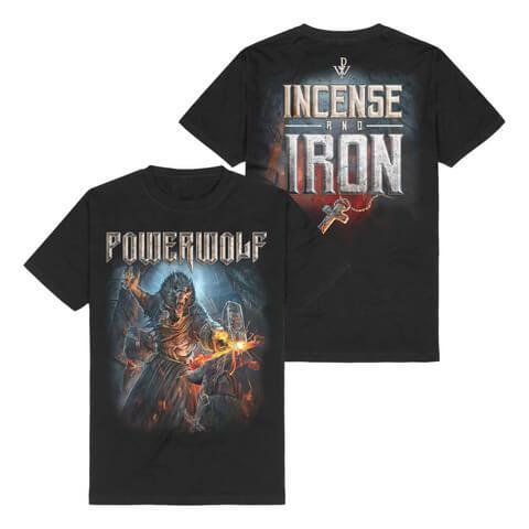 √Incencse and Iron von Powerwolf - T-Shirt jetzt im Bravado Shop
