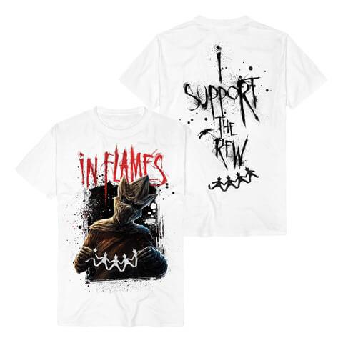 √I Support The Crew von In Flames - T-Shirt jetzt im Bravado Shop