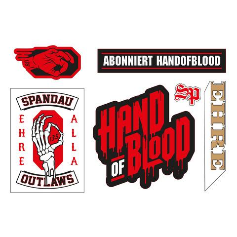 √Sticker Set von HandOfBlood - Stickerset jetzt im Bravado Shop