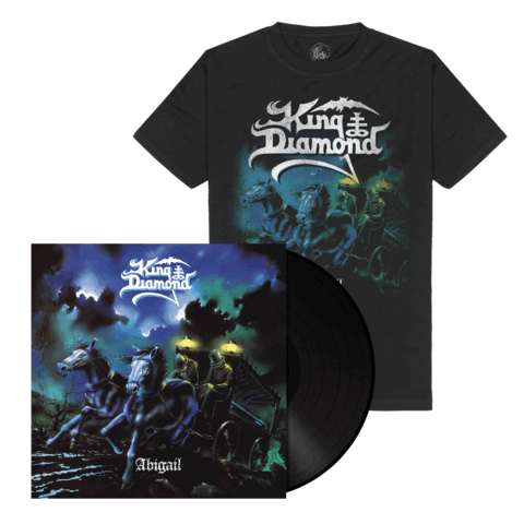 √Abigail (Ltd. Bundle Black LP Re-Issue + Shirt) von King Diamond - LP Bundle jetzt im Bravado Shop