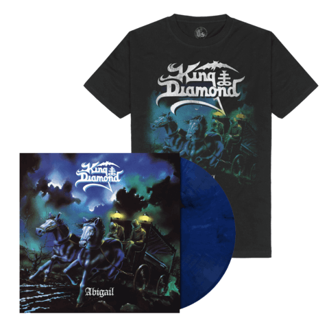 √Abigail (Ltd. Bundle Midnight Blue / White LP + T-Shirt) von King Diamond - LP Bundle jetzt im Bravado Shop