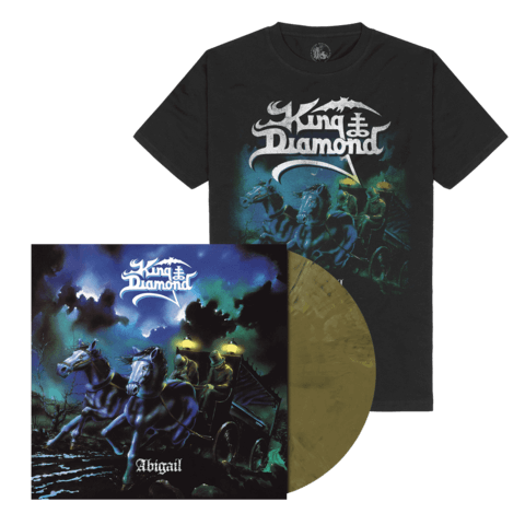 √Abigail (Ltd. Bundle Khaki Brown Marbled LP + T-Shirt) von King Diamond - LP Bundle jetzt im Bravado Shop