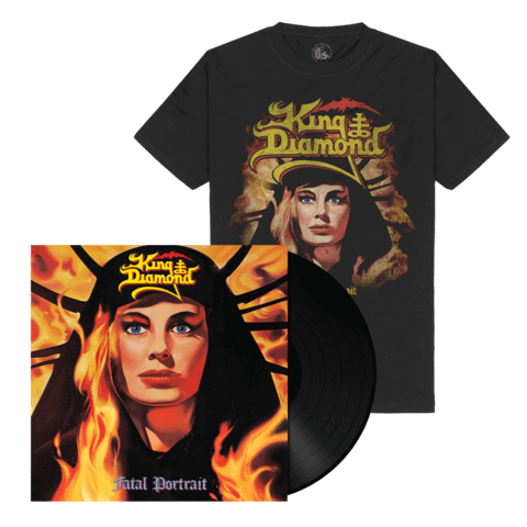 √Fatal Portrait (Ltd. Bundle Black LP Re-Issue + Shirt) von King Diamond - LP Bundle jetzt im Bravado Shop