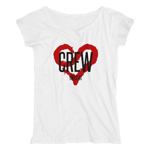 √Support the crew von Sunrise Avenue - Girlie Shirt jetzt im Bravado Shop