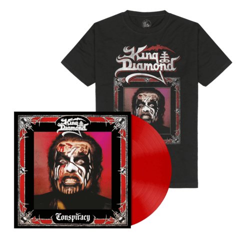 √Conspiracy (Ltd. Bundle Opaque Cherry Red Vinyl + Shirt) von King Diamond -  jetzt im Bravado Shop