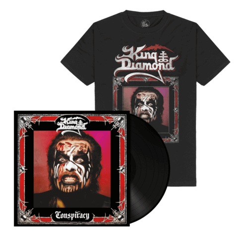 √Conspiracy (Ltd. Bundle Black Vinyl + Shirt) von King Diamond -  jetzt im Bravado Shop