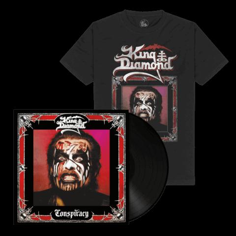 Conspiracy (Ltd. Bundle Black Vinyl + Shirt) von King Diamond - LP Bundle jetzt im Bravado Store
