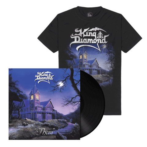 √Them (Ltd. Bundle Black Vinyl + Shirt) von King Diamond -  jetzt im Bravado Shop