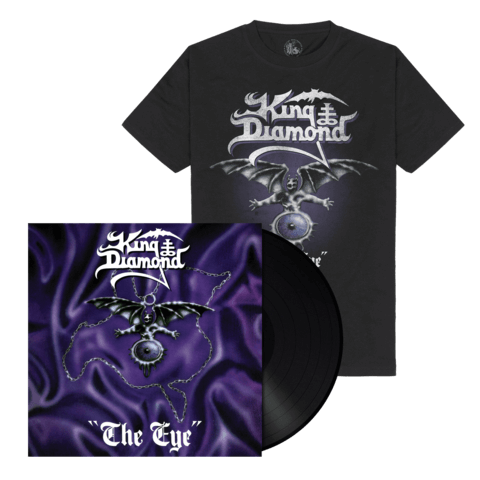 √The Eye (Ltd. Bundle Black Vinyl + Shirt) von King Diamond - LP Bundle jetzt im Bravado Shop