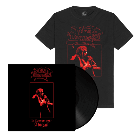 √Abigail In Concert 1987(Ltd. Bundle Black Vinyl + Shirt) von King Diamond - LP Bundle jetzt im Bravado Shop
