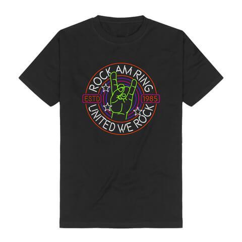 √Rock Hand United von Rock am Ring Festival - T-Shirt jetzt im Bravado Shop
