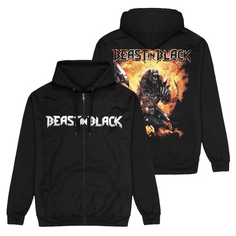 √Berserker Zipper von Beast In Black - Hooded jacket jetzt im Bravado Shop