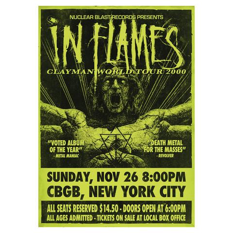 √Clayman World Tour 2000 von In Flames - Poster jetzt im Bravado Shop