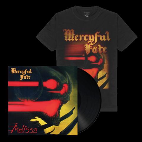 √Melissa (Black Vinyl + Shirt) von Mercyful Fate - Vinyl + T-Shirt Bundle jetzt im Bravado Shop