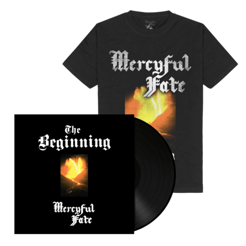 √The Beginning (Black Vinyl + Shirt) von Mercyful Fate - Vinyl + T-Shirt Bundle jetzt im Bravado Shop