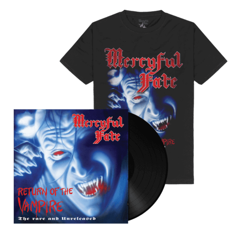 √Return Of The Vampire (Black Vinyl + Shirt) von Mercyful Fate - Vinyl + T-Shirt Bundle jetzt im Bravado Shop