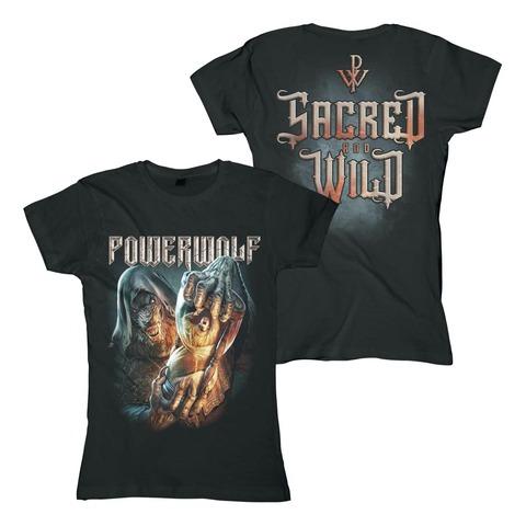 √Hourglass von Powerwolf - Girlie Shirt jetzt im Bravado Shop