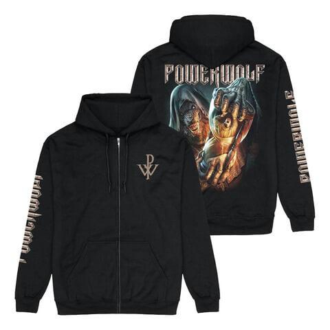 √Hourglass von Powerwolf - Hooded jacket jetzt im Bravado Shop