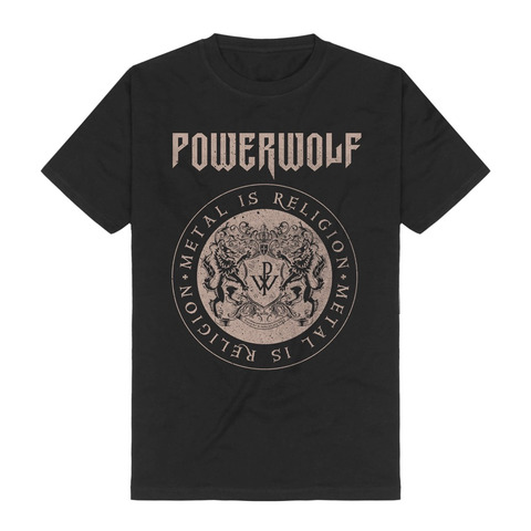 √Crest Circle von Powerwolf - T-Shirt jetzt im Bravado Shop