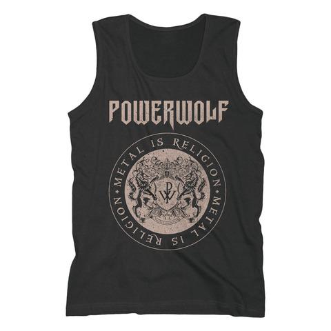 √Crest Circle von Powerwolf - Men's Tank Top jetzt im Bravado Shop