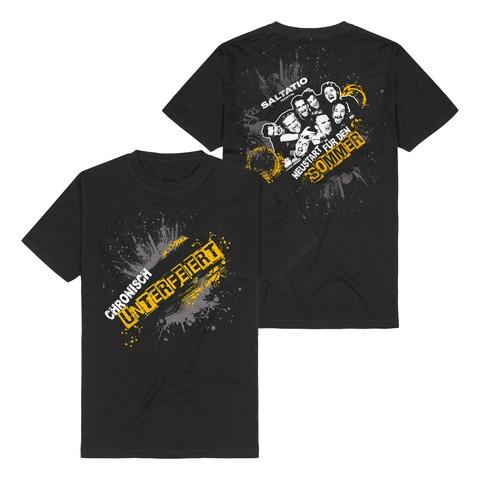 √Chronisch unterfeiert von Saltatio Mortis - T-Shirt jetzt im Bravado Shop