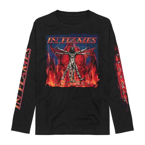 √Vitruvian Man - Clayman Album Art von In Flames - Long-sleeve jetzt im Bravado Shop