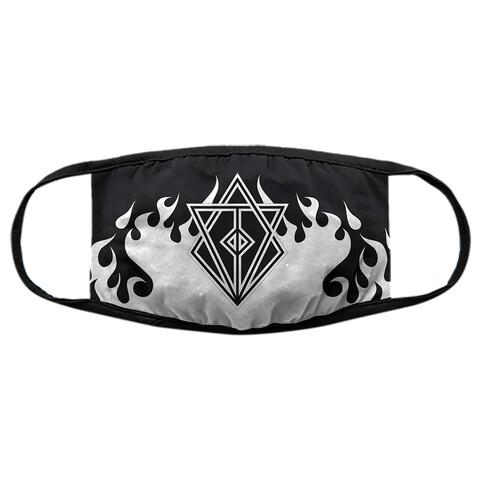 √Clayman Flames von In Flames - mask jetzt im Bravado Shop