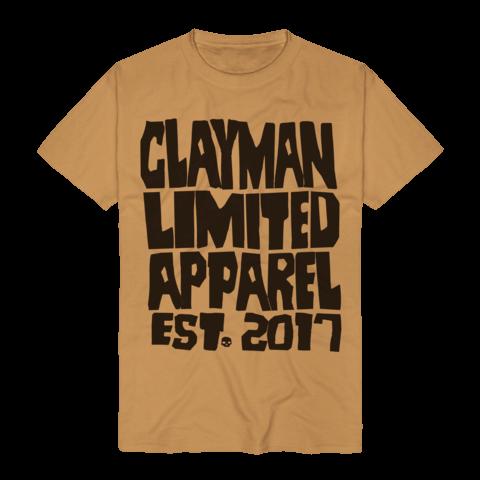 √Clayman Est. 2017 von Clayman Limited - T-Shirt jetzt im Bravado Shop