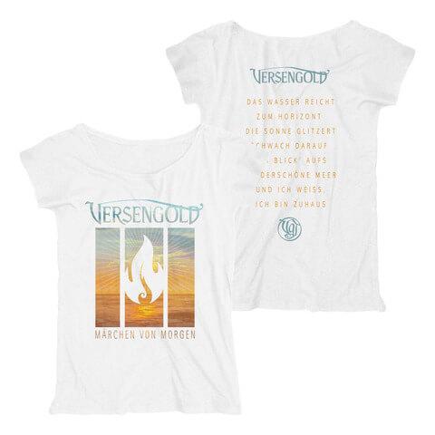 √Märchen von morgen von Versengold - Loose Fit Girlie Shirt jetzt im Bravado Shop