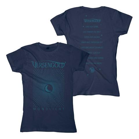 Mondlicht von Versengold - Girlie Shirt jetzt im Bravado Shop